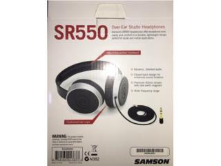 Audífonos Samson SR550, Puerto Rico