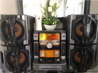 Radio Sony 5cd changer 720W, Puerto Rico