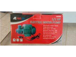 Motor 1/2 HP Water Pump, Puerto Rico