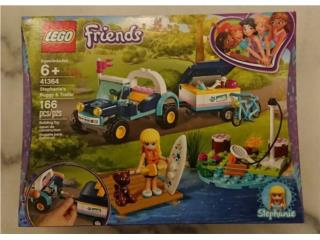 SET LEGO FRIENDS STEPHANIE'S BUGGY & TRAILER NUEVO, Puerto Rico