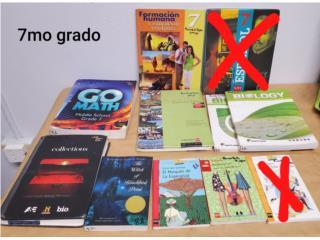 Biology Santillana (libros septimo (7mo), Puerto Rico