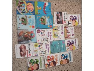 Libros usados para 1,2,3 grado , Puerto Rico