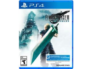 Final Fantasy 7 Remake PS4, Puerto Rico