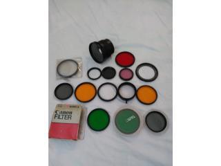 lentes filtros, Puerto Rico