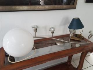 Vendo tres lámparas- Pared y techo y mesa, Puerto Rico