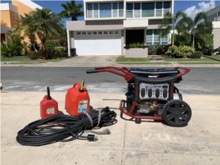 Generador Portátil 10K , Puerto Rico
