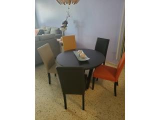juego de comedor con 5 sillas, Puerto Rico