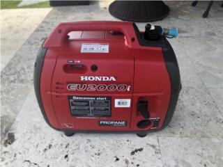 Generador Honda EU2000IS (Convertida a Propano), Puerto Rico