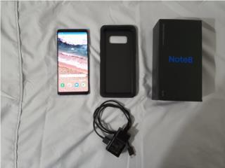 Samsung Note 8 (claro), Puerto Rico