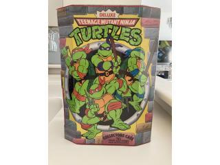 1990 TNMT ninja turtles caja coleccion figuras, Puerto Rico