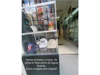 Gorras pintadas a mano, Puerto Rico