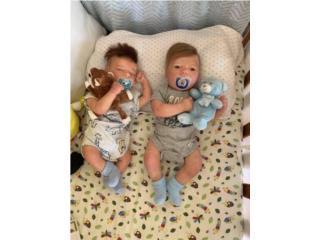 2 bebes realborn , Puerto Rico