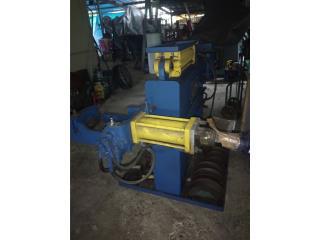 Maquina de doblar tubo de  muffler, Puerto Rico