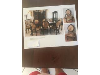 Muebles de comedor y trinchante, Puerto Rico