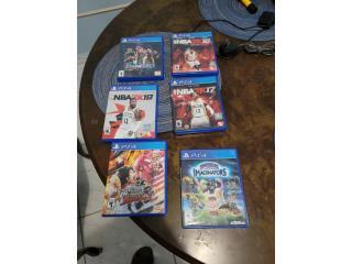 Juegos de PS4, Puerto Rico