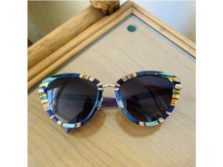 Gafas de sol multicolor, Puerto Rico