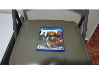 Infamous PS4, Puerto Rico