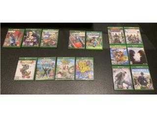 Video Juegos Xbox One a solo $75 TODOS, Puerto Rico