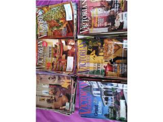Colección revistas  victorian Homes desde 1982, Puerto Rico