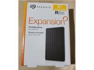 Disco Duro Externo 2TB Seagate Backup PS Xbox PC, Puerto Rico
