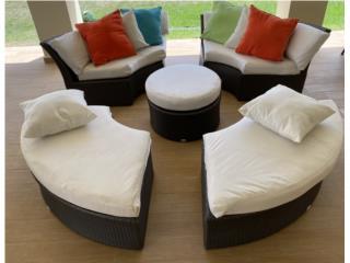 Muebles de Patio modernos, Puerto Rico