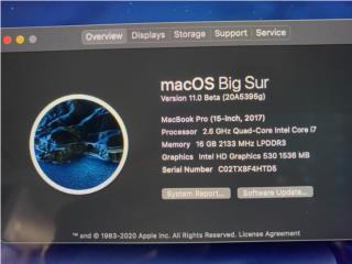 Macbook Pro 15, Puerto Rico