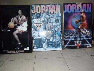 Cuadros de Colección Baloncelista NBA, M. Jordan, Puerto Rico