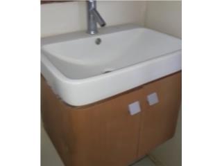 Vanity de baño con lavamano, Puerto Rico
