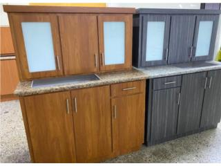 set de gabinetes en PVC, Puerto Rico