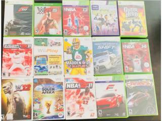 Súper Baratos!!!!Juegos XBOX 360, XBOX One y Wii , Puerto Rico