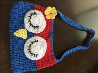 carteras tejidas hechas a mano, Puerto Rico