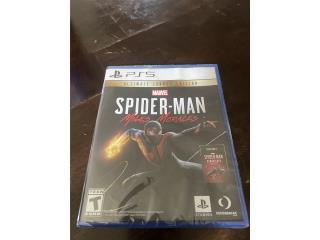 Spiderman ps5, Puerto Rico