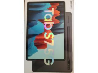 Tablet Samsung S7, 5G NUEVA (0 horas de uso), Puerto Rico