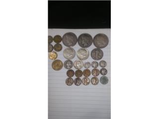 Monedas plata antiguas, Puerto Rico
