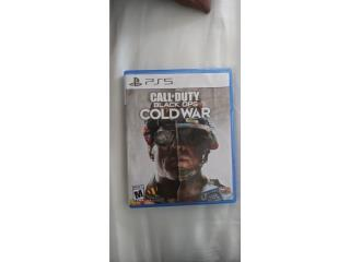 Call of duty black ops cold war ps5 $25, Puerto Rico