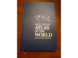 Libro National Geographic Atlas of the World, Puerto Rico