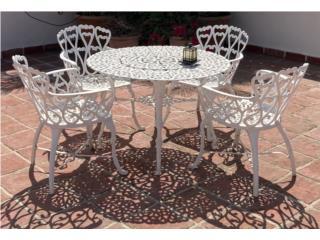 Muebles de terraza en hierro $390, Puerto Rico