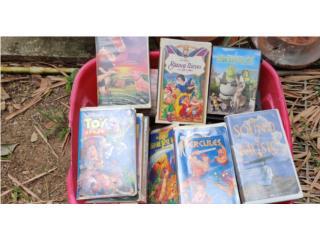 VENDO PELICULAS VHS DE NINOS, Puerto Rico
