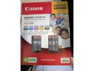 Tintas Canon PIXMA, Paquete Original sellado , Puerto Rico