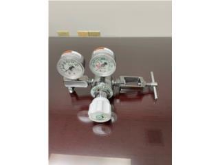 Regulador de oxigeno con 2 manómetros, Puerto Rico