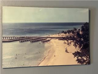 Foto laminada del Crashboat , Puerto Rico