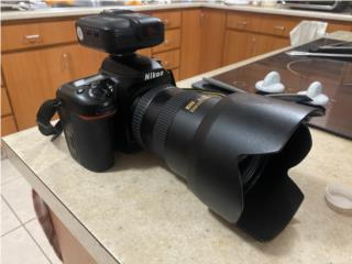 Nikon D7500 Body también tengo varios lentes, Puerto Rico