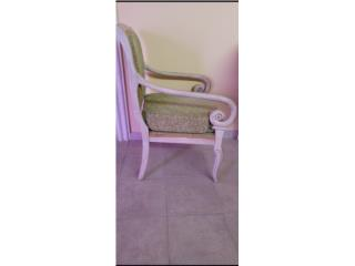 Sillon Vintage Antiguo, Como nueva solo $100, Puerto Rico