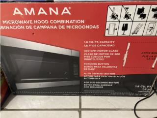 Microhonda con extractor marca Amaña , Puerto Rico