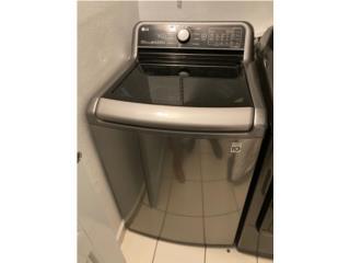 Lavadora Inverter LG con poco uso, Puerto Rico