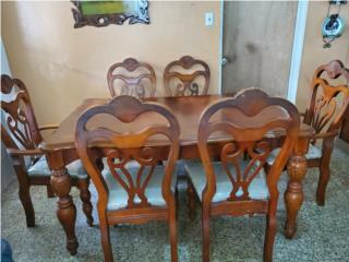 Juego de comedor de  6 sillas , Puerto Rico