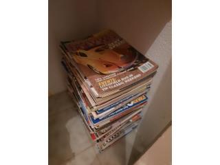 Más de 70 revistas de volky , Puerto Rico