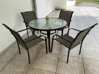 Juego de patio, sillas impermeables!, Puerto Rico