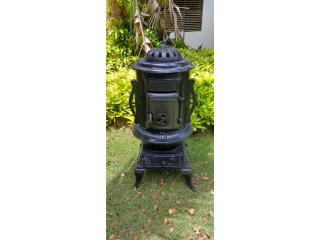 Estufa de hierro antigua, Puerto Rico