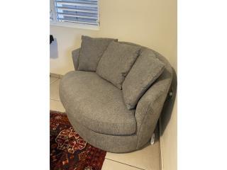 Swivel Chair Loveseat, Puerto Rico